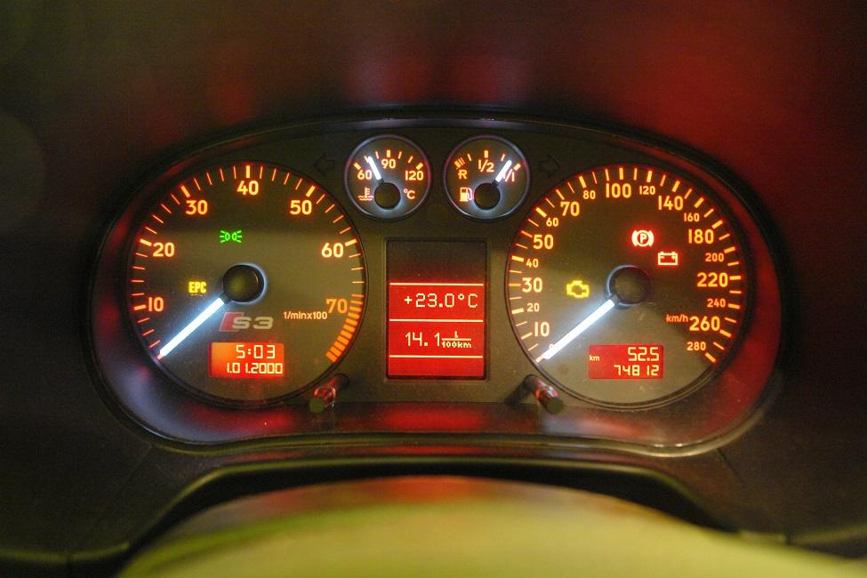 Audi S3 8l 18t Bam 225km 2619km 368nm