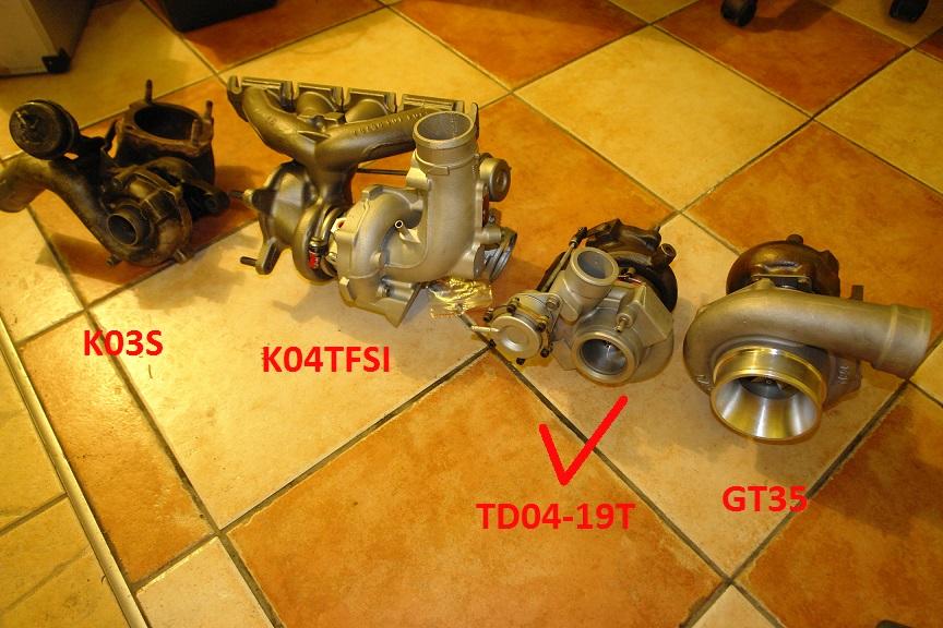 Audi a3 18t big turbo